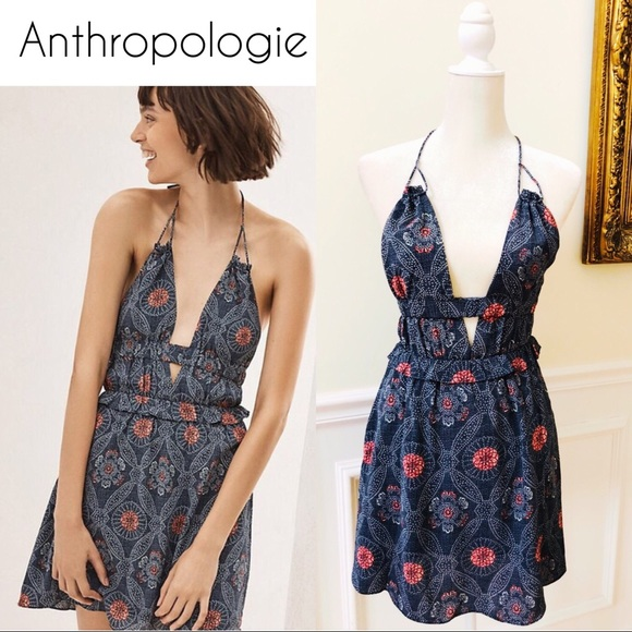 87471d3c6055 Anthropologie Dresses   Nwt Tavik Rose Halter Dress Size Xs   Poshmark